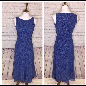 Talbots 2P silk dress